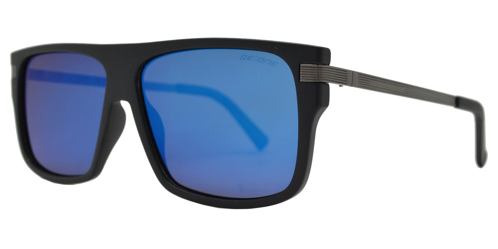 Wholesale - PL 3944 - Square Flat Top Flat Lens Plastic Polarized Sunglasses - Dynasol Eyewear