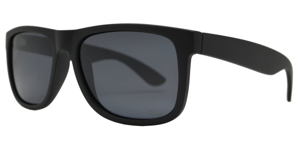 Wholesale - PL 7619 - Classic Square Sports Plastic Polarized Sunglasses - Dynasol Eyewear