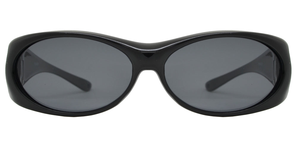 Wholesale - PL 8485 - Plastic Full Wrap Around Cover Over Polarized Sunglasses - Dynasol Eyewear