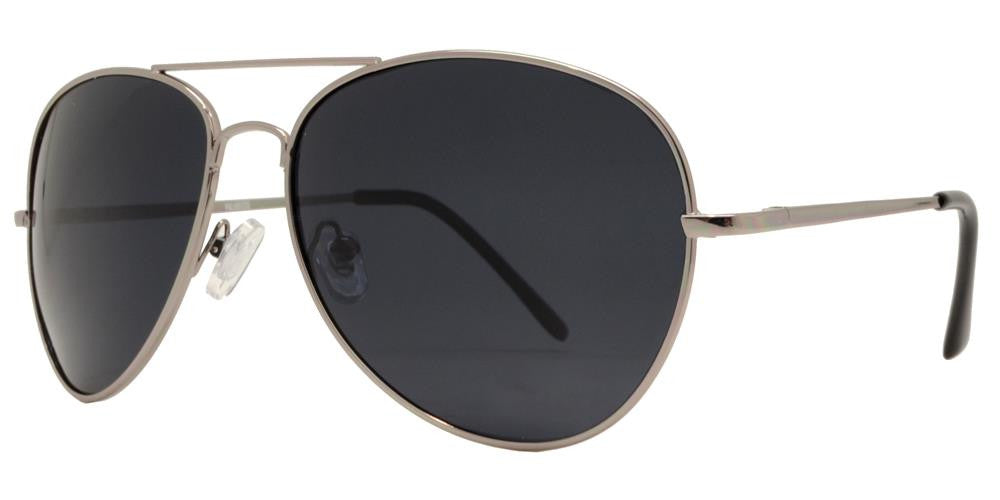 Dynasol Eyewear - Wholesale Sunglasses - PL 9090 - Classic Metal Aviator Polarized Sunglasses - sunglasses
