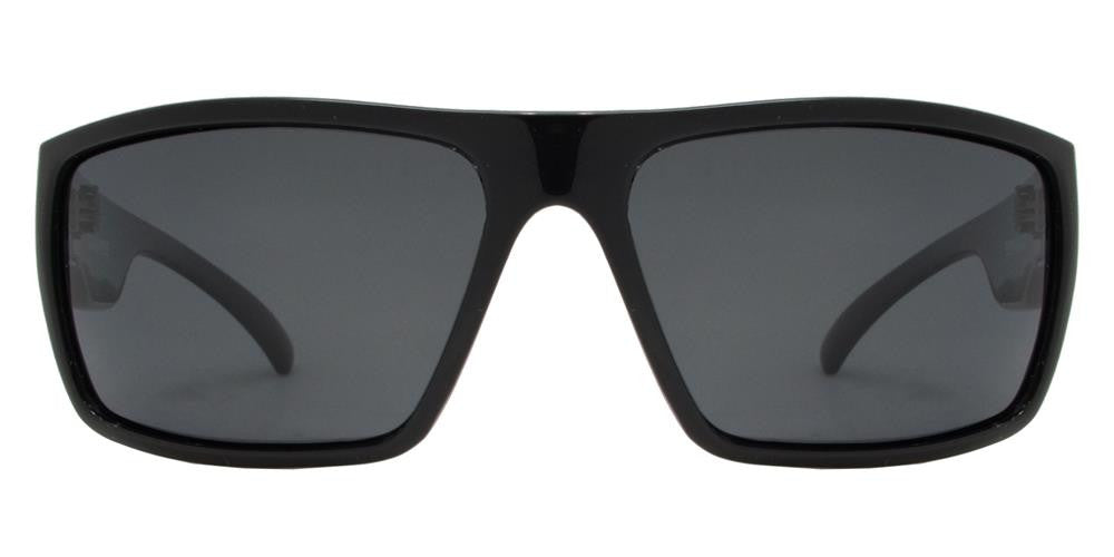 Dynasol Eyewear - Wholesale Sunglasses - PL Cooper - Polarized Men Rectangular Classic Sport Plastic Sunglasses - sunglasses