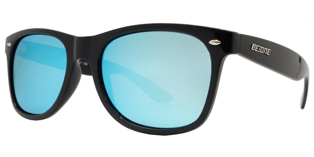 Dynasol Eyewear - Wholesale Sunglasses - PL Monza - Polarized Classic Horn Rimmed Plastic Sunglasses - sunglasses