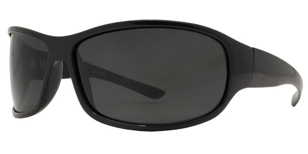 Wholesale - PL Tommy - Polarized Men Sport Wrap Around Plastic Sunglasses - Dynasol Eyewear