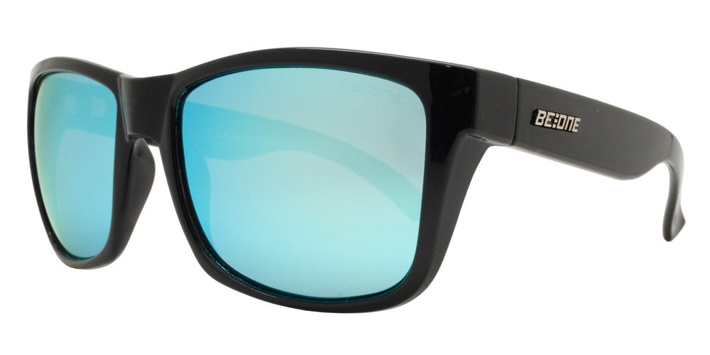 Wholesale - PL Zagg - Polarized Men Classic Sport Square Plastic Sunglasses - Dynasol Eyewear