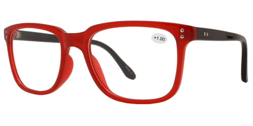 RS 1513 - Plastic Rectangle Reading Glasses