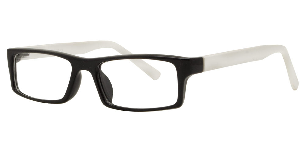 Wholesale - PZ 1310 - Rectangular Plastic Sunglasses with Clear Lens - Dynasol Eyewear