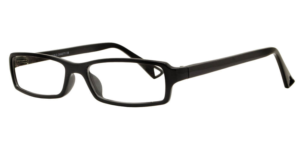 PZ 1322 - Clear Lens Plastic Rectangular Sunglasses