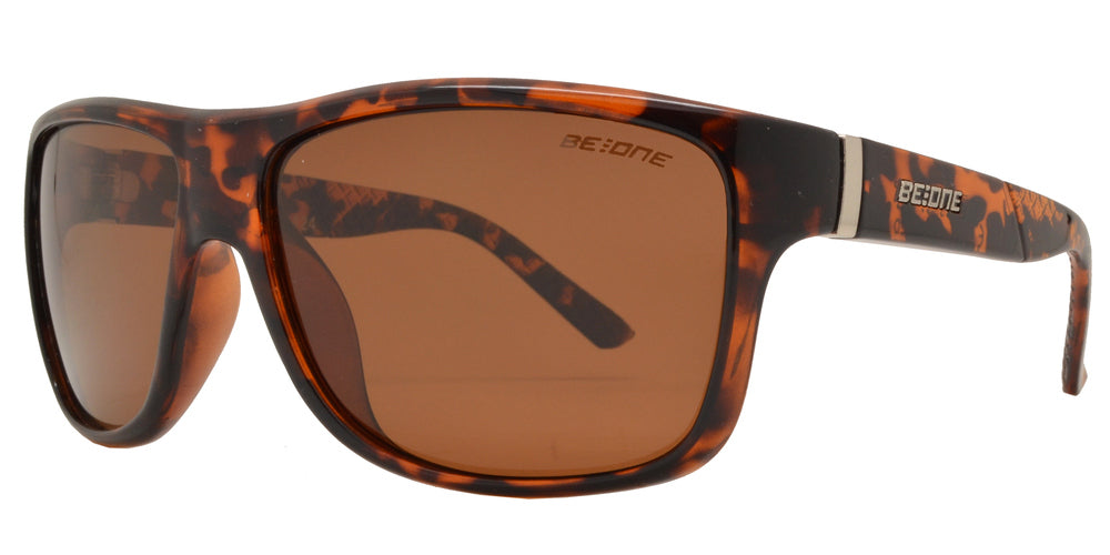 Dynasol Eyewear - Wholesale Sunglasses - PL Quake - Polarized Men Square Sport Plastic Sunglasses - sunglasses