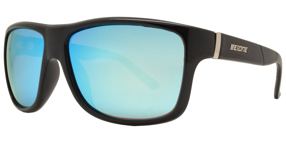 Wholesale - PL Quake - Polarized Men Square Sport Plastic Sunglasses - Dynasol Eyewear