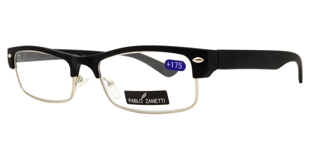 Wholesale - RS 1046 - Classic Horn Rimmed Half Rimmed Plastic Reading Glasses - Dynasol Eyewear