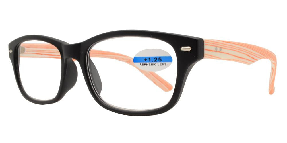 Wholesale - RS 1144 - Plastic Horn Rimmed Reading Glasses - Dynasol Eyewear