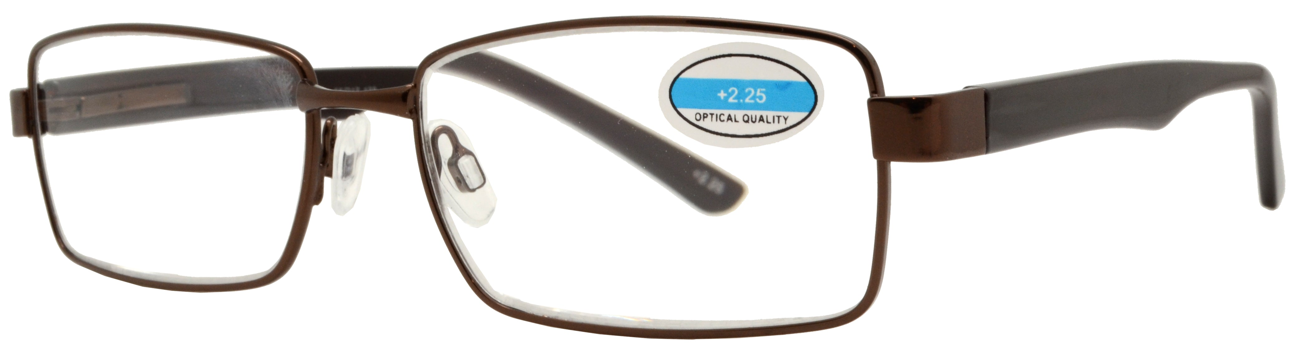 RS 1206 - Rectangular Metal Reading Glasses