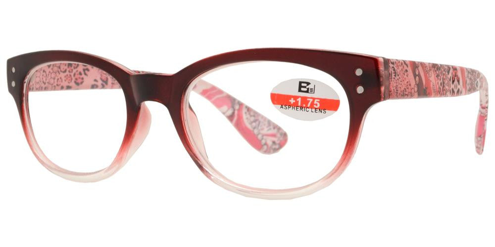 Dynasol Eyewear - Wholesale Sunglasses - RS 1140 - Round Plastic Reading Glasses - reader