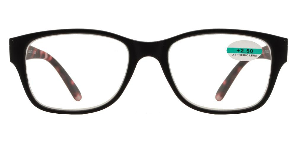 Wholesale - RS 1150 - Classic Horn Rimmed Marble Finish Plastic Reading Glasses - Dynasol Eyewear
