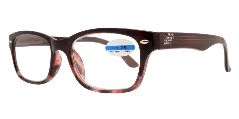 Wholesale - RS 1158 - Plastic Reading Glasses with Rhinestones - Dynasol Eyewear