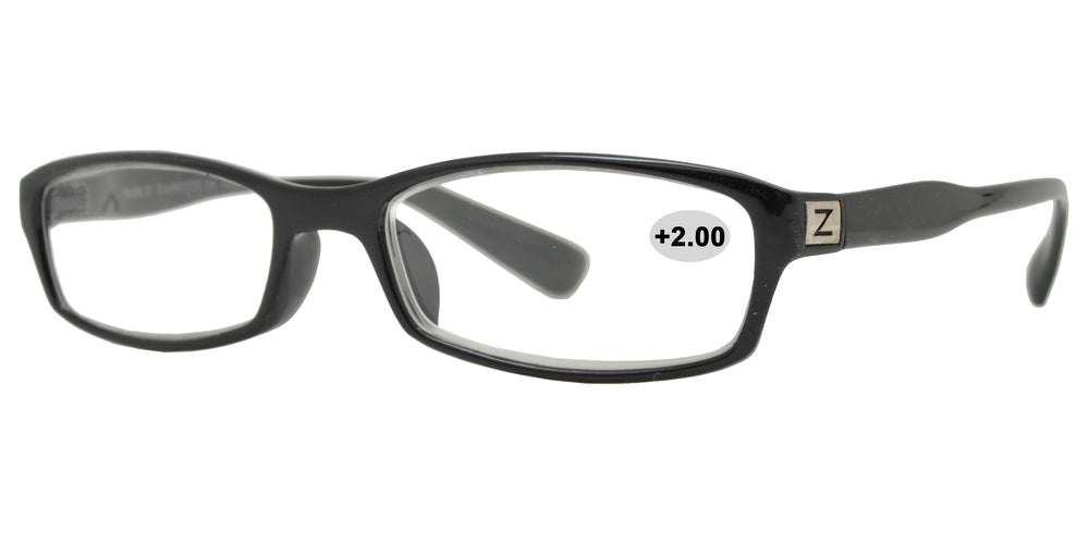 RS 1314 +2.00 - Plastic Rectangular Reading Glasses