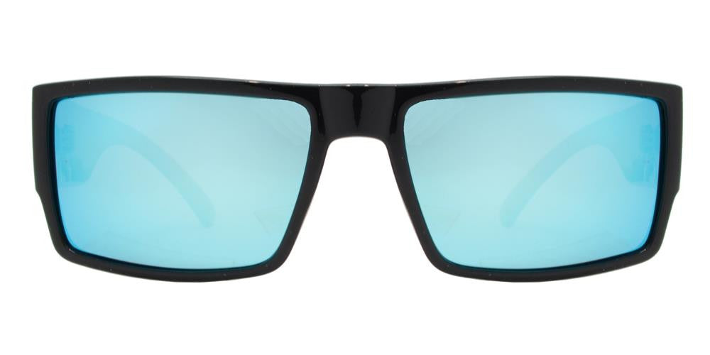 Wholesale - PL River - Polarized Men Flat Top Rectangular Sport Plastic Sunglasses - Dynasol Eyewear