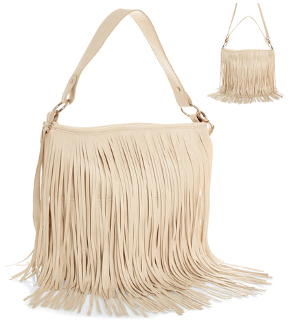 Cream leather-look handbag. Cream leather-look trim. - Honey UK Jewellery and Accessories