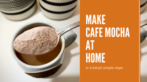How to make Cafe Mocha at home: 4 Steps