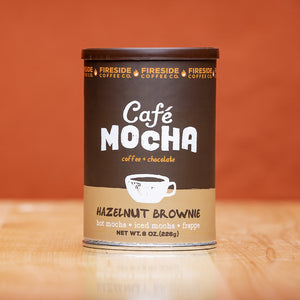 Hazelnut Brownie Cafe Mocha