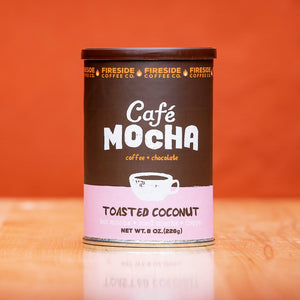 Toasted Coconut Cafe Mocha