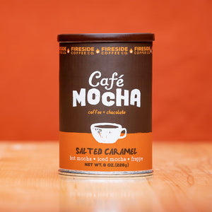 Salted Caramel Cafe Mocha