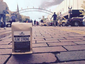 Flint Strong Coffee on Brick Street in Flint