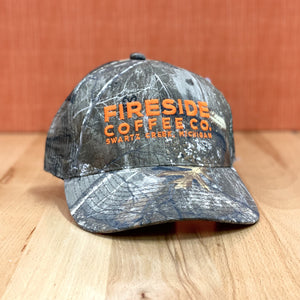 Real Tree Camo Fireside Logo Hat
