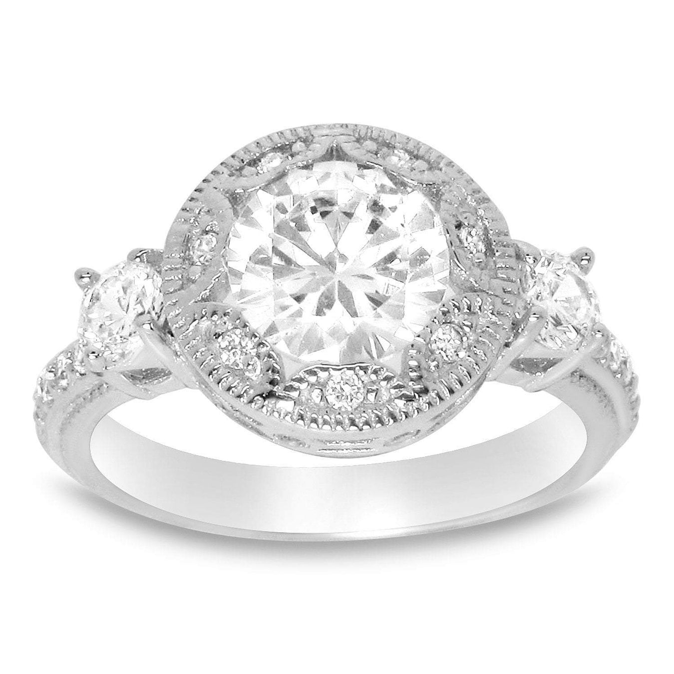 Cubic Zirconia (CZ) Engagement Rings