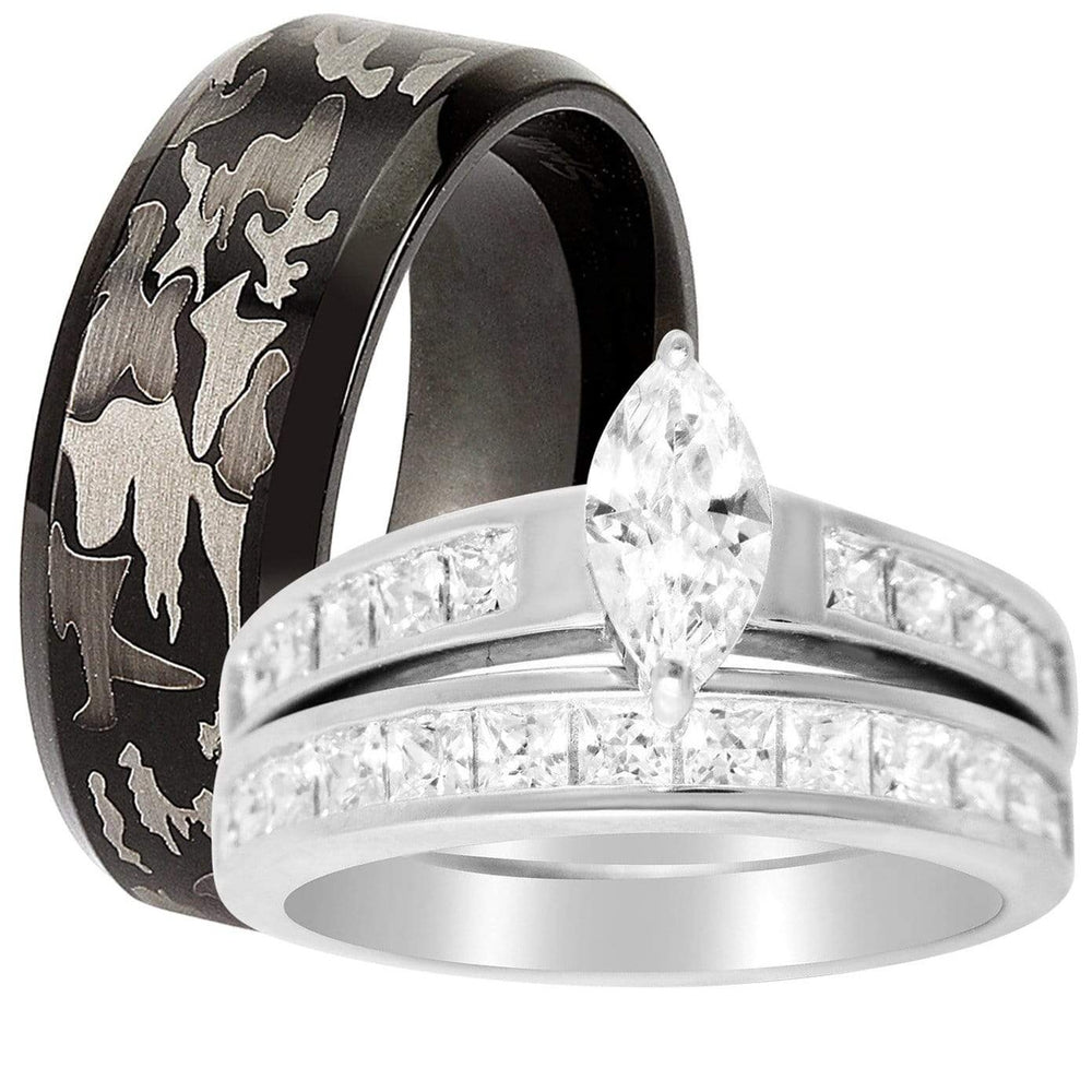 his hers wedding rings cheap