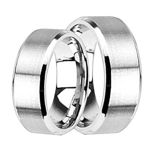 His Hers Wedding Rings Affordable Wedding Band Set  Him Her