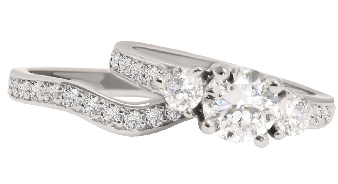 CZ Wedding Rings for Women