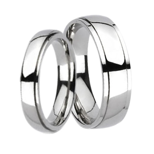his hers titanium wedding rings affordable wedding band set