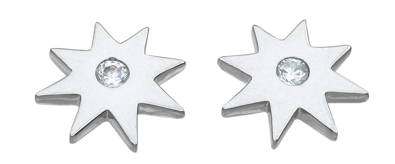 Sterling Silver star earrings - LaRaso & Co