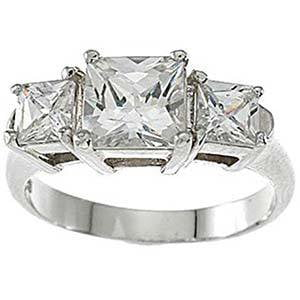Cubic Zirconia Engagement Ring That Looks Real