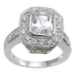 Best Quality Cubic Zirconia Engagement Rings