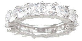 LaRaso & Co Sterling Silver Eternity Ring Wedding Band - LaRaso & Co - 1