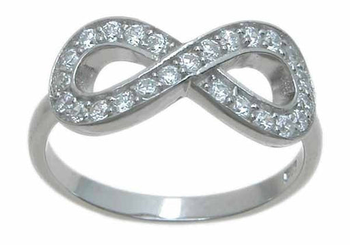 Sterling Silver infinity ring - LaRaso & Co - 1
