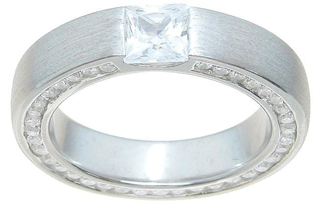 Quality Mens Sterling Silver Wedding Band Ring