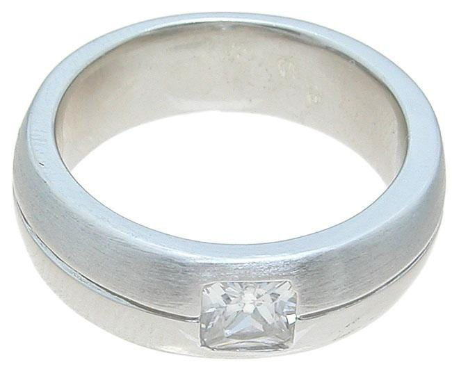 Sterling Silver Wedding Band for Him