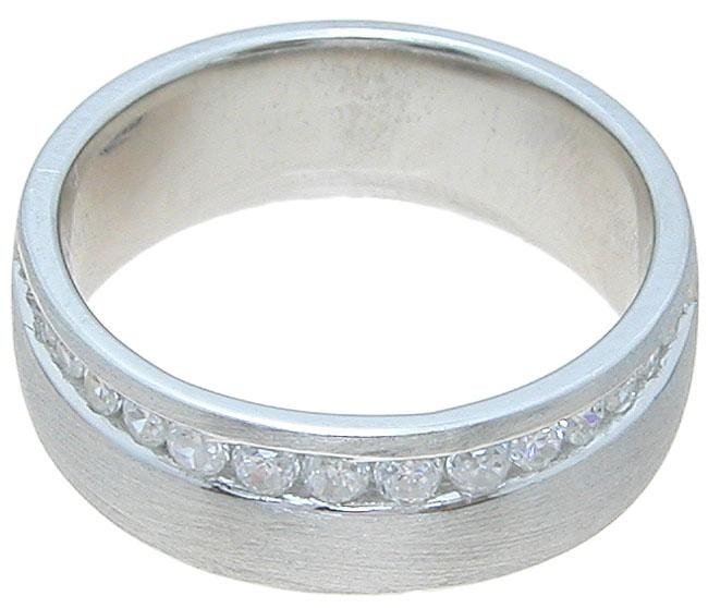Men's 925 Sterling Silver Wedding Band for Him
