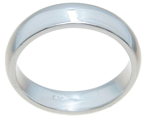925 Sterling Silver Wedding Band for Him