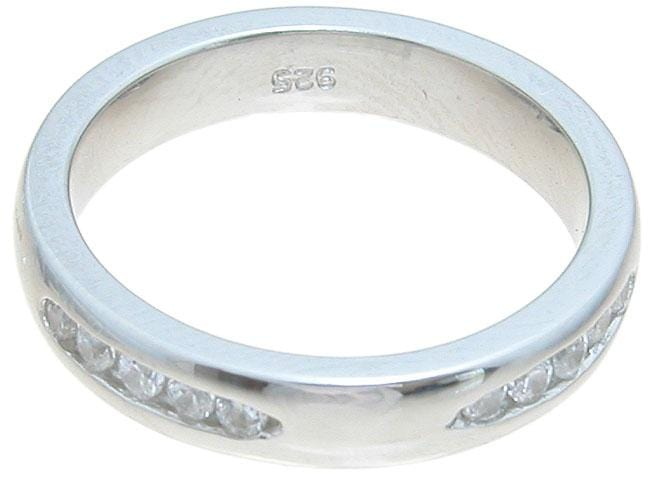 Mens Sterling Silver Wedding Band Looks Real Not Cheap