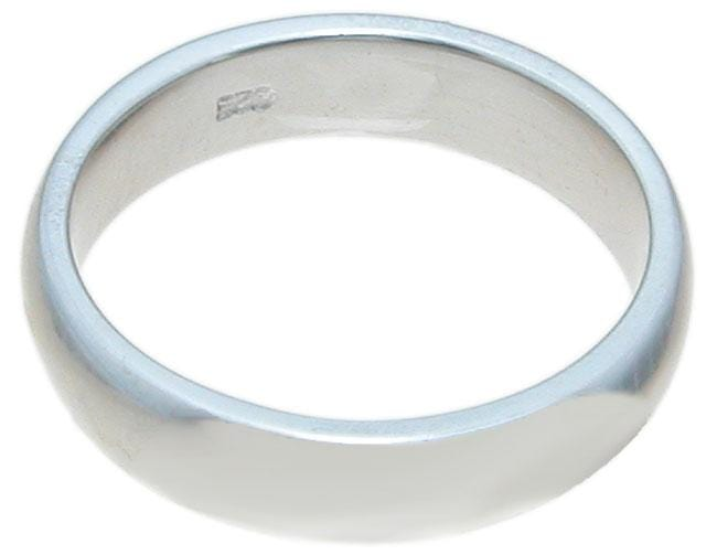 925 Sterling Silver Wedding Band for Men