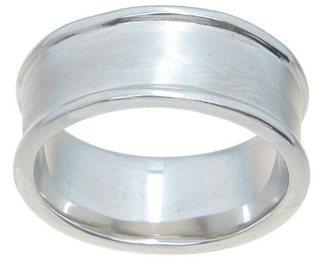 925 Sterling Silver wedding band - LaRaso & Co - 1