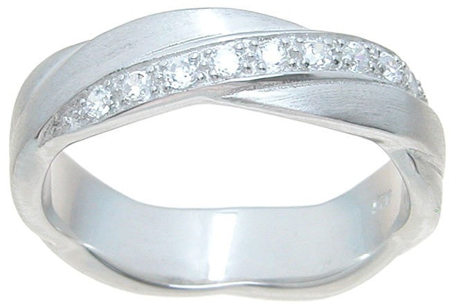 Mens High Quality Silver Wedding Ring - LaRaso & Co - 1