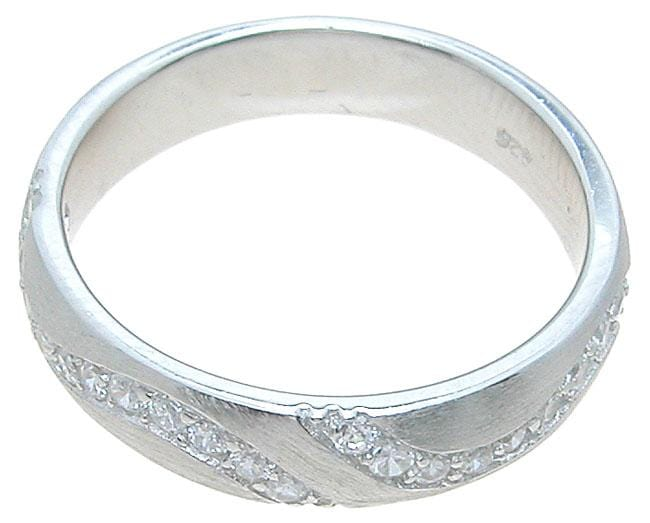 Sterling Silver Wedding Band Ring