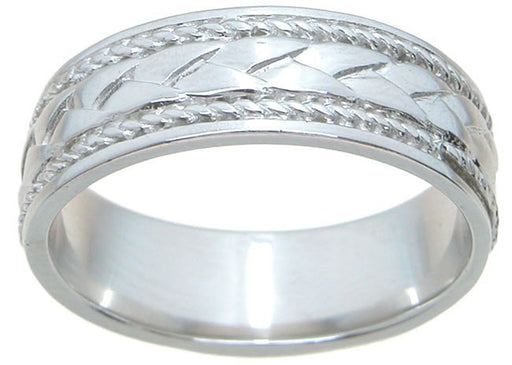 Sterling Silver Wedding Ring For Men - LaRaso & Co