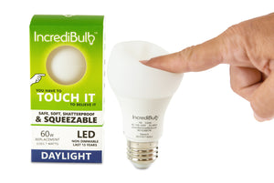60W Replacement, Flexible LED Bulb