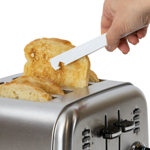 Toaster Tongs w/ Oven Rack Hook